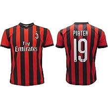 75e0869bf2740 Camiseta Oficial Piatek Milan 2018 2019 AC Adulto Niño Krzysztof Número 19  ...