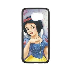 samsung galaxy s6 case , disney princess Snow White samsung galaxy s6 Cell phone case Black-YYTFG-23822