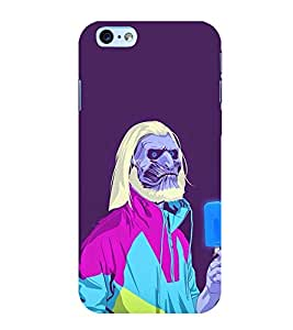 Printtech Zombie Deathwalker Back Case Cover for Apple iPhone 6/6S
