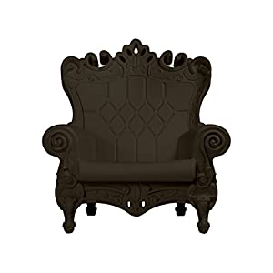 Design of Love Little Queen of Love Baby Armchair Chocolate Brown