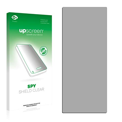 upscreen Anti-Spy Blickschutzfolie für iRiver T6 Privacy Screen Displayschutzfolie - Sichtschutz, Kratzfest (Iriver T6 Mp3-player)