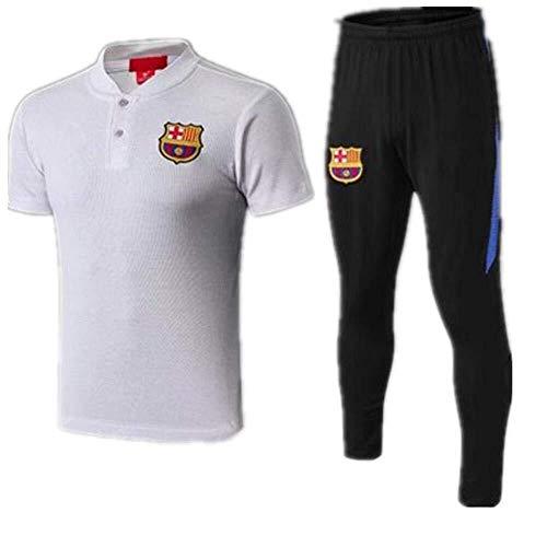 Kurzärmeliger Paris Ball Polo Shirt Fußball Uniform Trainingsanzug (Farbe : 1, Size : L) -