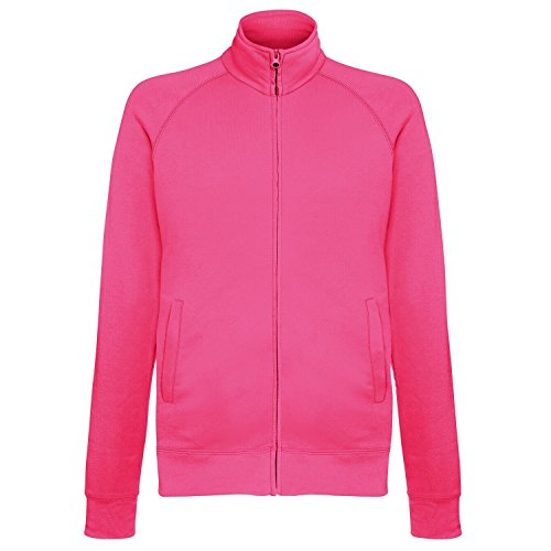 Fruit Of The Loom Herren Fleece Jacke, leicht Violett