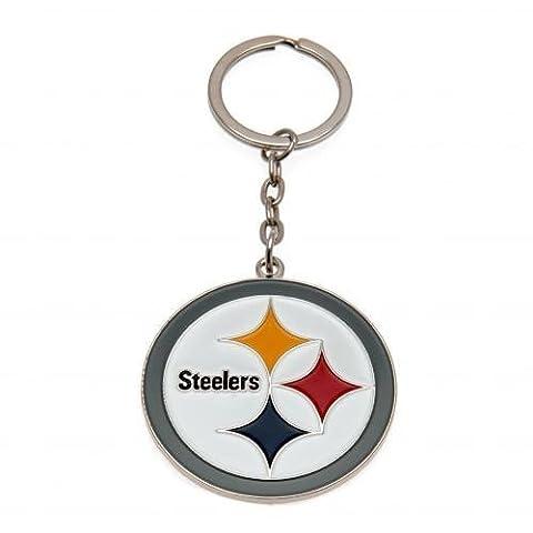 Pittsburgh Steelers Offizielles American Fußball Geschenk Schlüsselanhänger–A Great Weihnachten/Geburtstag Geschenkidee für Männer und Jungen