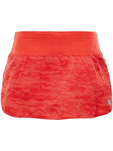THE NORTH FACE Flight BTN Rock, Skirt M Rot (Fiery Coral digicamo PRNT) North Face Rock