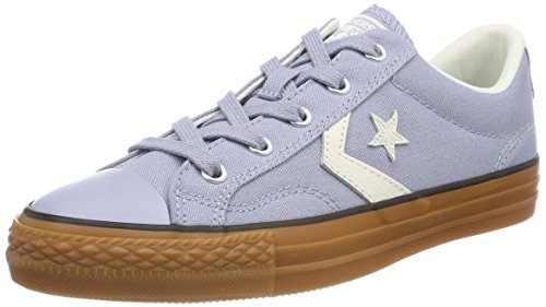 5c2ffe290 Converse Adults  Lifestyle Star Player Ox Canvas Fitness Shoes Glacier  Grey Egret Honey