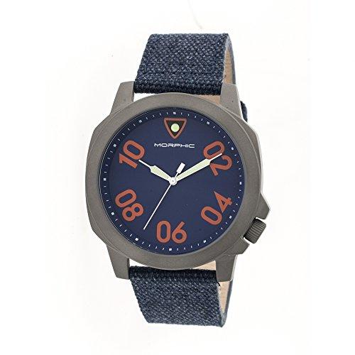 Montre Morphic - Affichage analogique Bracelet et Cadran MPH4105_Navy
