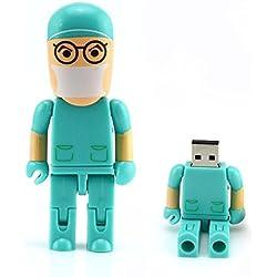 homiki cirujano Robot Doctor con forma de 8GB/16GB/32GB/64GB unidad flash USB 32G