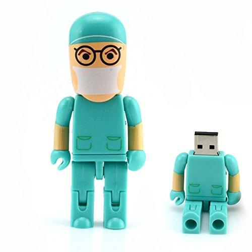 homiki cirujano Robot Doctor con forma de 8GB/16GB/32GB/64GB unidad flash USB 64G