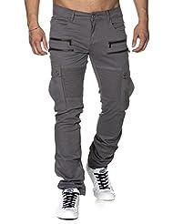 Tazzio - Pantalon - Slim - Homme -  gris -  31 W/32 L