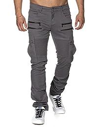 Tazzio - Pantalon - Slim - Homme -  gris - 36 W/32 L
