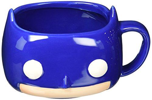 Batman Comic 3D taza azul cerámica 350ml