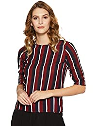 Krave Women's Striped Regular Fit Top