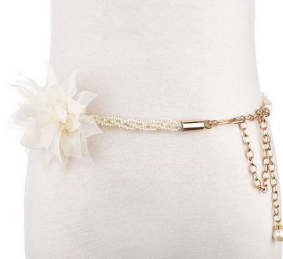 Eine kleine perle der kalten Waffen südkorea süße Frau - Gürtel Breite röcke dekorative Chao elegante blumen schmale (Waffe Dekorative)