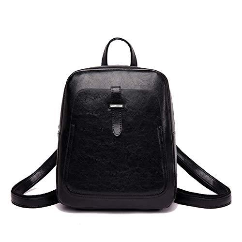 NIYUTA Frauen Rucksack Mode Reise PU Leder Schulter Crossbody Vintage Lässig Niedliche Handtasche -