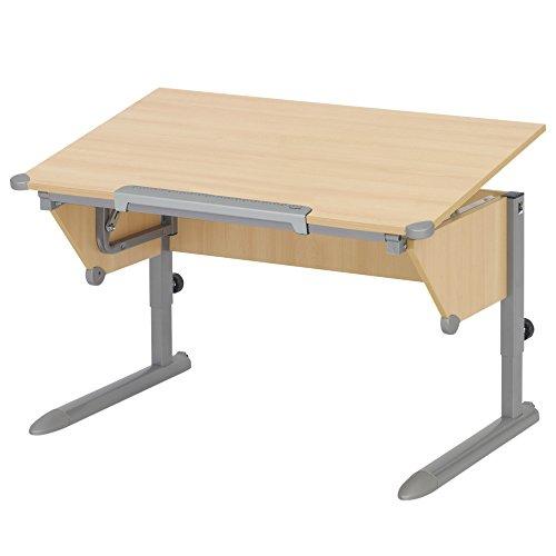 Kettler 06622-272 Schreibtisch Cool Top silber / buche