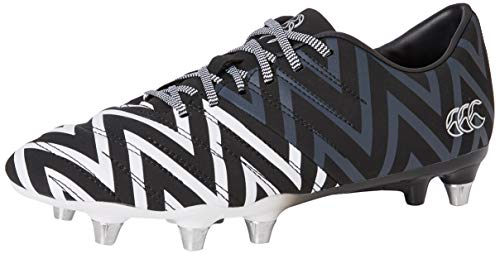 Canterbury of New Zealand Phoenix 2.0 Soft Ground, Zapatillas de Rugby Unisex Adulto, Negro Black Adult...