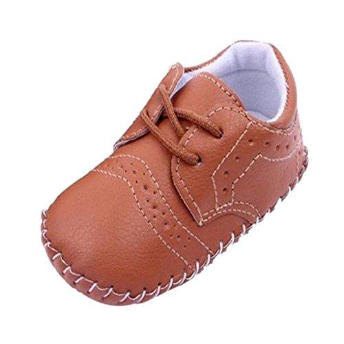 Chaussures Premiers Pas Bébé Mode Enfants Filles Berceau Marcheur en Cuir PU