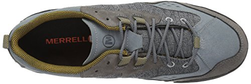 Merrell Burnt Rock, Baskets Homme, Olive, 47 EU Gris