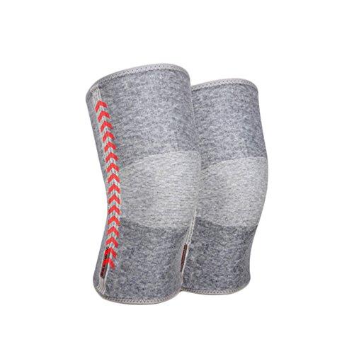 Preisvergleich Produktbild Kniepolster Männer Und Frauen Sommer Ultra Thin Bambuskohle Warme Knieschützer, XL