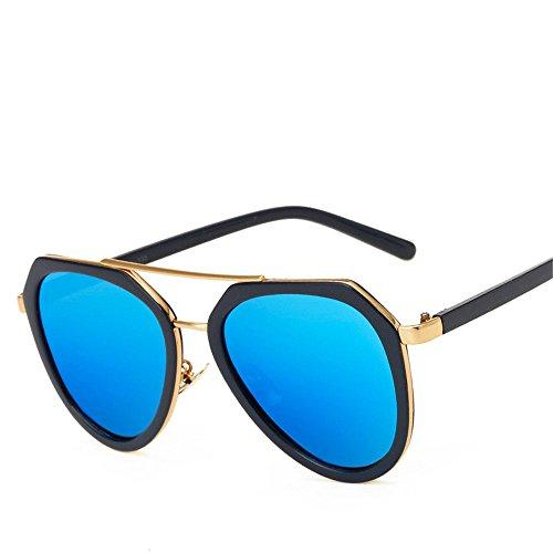Preisvergleich Produktbild Chahua Sonnenbrillen modische Sonnenbrillen Flut der hohe optische Sonnenbrille E der Spiegel.