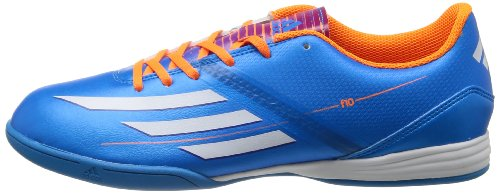 Adidas F10 In Solblu / runwht / solzes Indoor Soccer Shoe 8.5 Us blau - weiß - orange