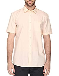 STOP To Start By Shoppers Stop Mens Regular Collar Solid Shirt