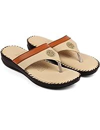 Bare Soles Trendy Doctors Sole Slippers - 906-beige