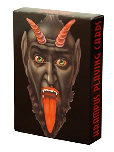 Krampus Playing Cards Set One por Monte Beauchamp