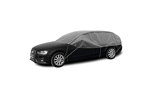 Abdeckplane Halbgarage Sonneschutz Schneeschutz Uv Schutz Winter Sommer Größe L Xl Kompatibel Mit Audi A4 Avant B8 Auto