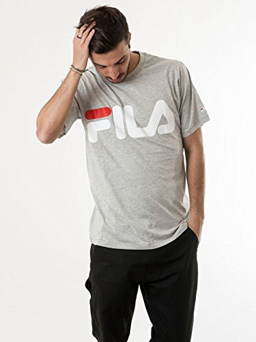 fila Money tee B13 light grey mel.