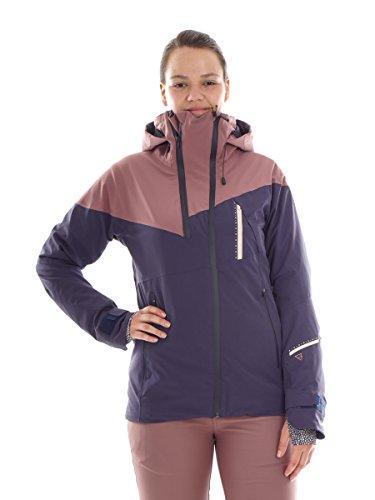 Brunotti Skijacke Winterjacke Snowboardjacke lila Taylor Clo® Kapuze (M)