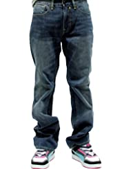 Sir Benni Miles–Stan Jeans–Mid Blue, hombre, Mediados Azul, 31
