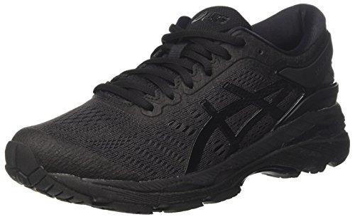 ASICS Damen Gel-Kayano 24 Laufschuhe, Schwarz Black/Carbon 9090, 37 EU - Schuhe Kayano Frauen Asics