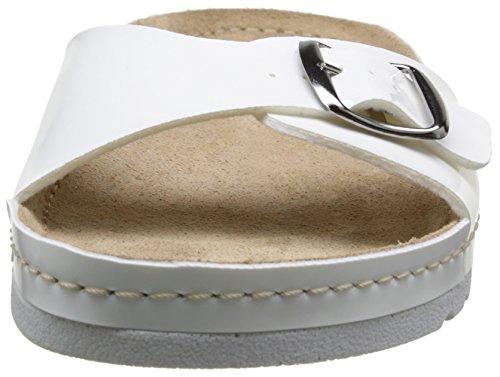 Rohde Riesa, Mules Femme Blanc (blanc vernis)