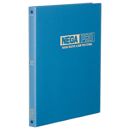 Hakuba álbum negativo NEGATIVO profesional álbum para azul 120claro Brownie 151–200515046piezas de color azul (importación de Japón)