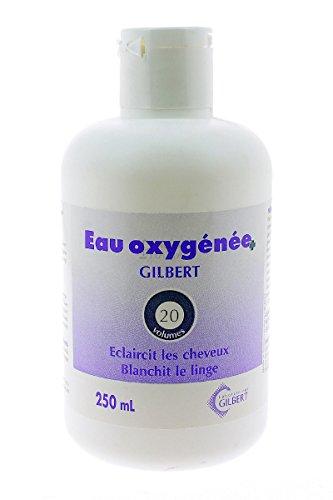 EAU OXYGENEE 20 VOLUMES GILBERT 250 ML