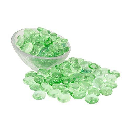 Lime Glas Gems 1lbs.-füllt 11/4Tassen Vol.-ungiftig bleifrei Vase, Tisch Scatter, Aquarium Filler-Schöne, glatte, Spaß, lebhafte Farben handgefertigt in den USA