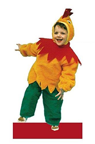 - Tg.0° - 0-12 Mesi. Travestimento Di Carnevale E Halloween Bambino E Bambina (Controllare Le Misure In Centimetri Della Taglia) - Hllw (Huhn Baby Halloween Kostüm)
