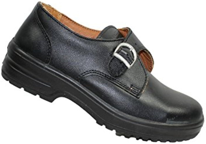 ERGOS - Zapatos con Cordones de Cuero Hombre