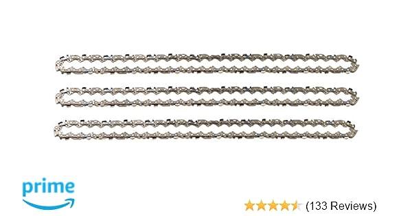 """Schwert 2 Ketten passend für Solo 613 30 cm 3//8/"""" 45 TG 1,3 mm Sägekette chain"""