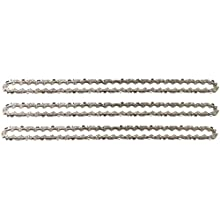 """3 tallox Saw Chains 3/8"""" Pitch .043"""" 1,1 mm Gauge 57 Links 16"""" 40 cm low kickback fits Bosch AKE 40 / AKE 40-17S / AKE 40-18S / AKE 40-19S and other Chainsaws, F016800258"""