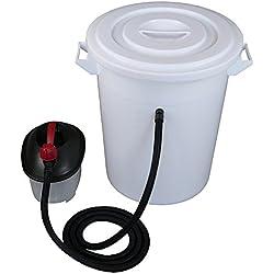 Dampfwachsschmelzer mit 75 Liter Dampferzeuger Honigschleuder Wachs Kreislauf