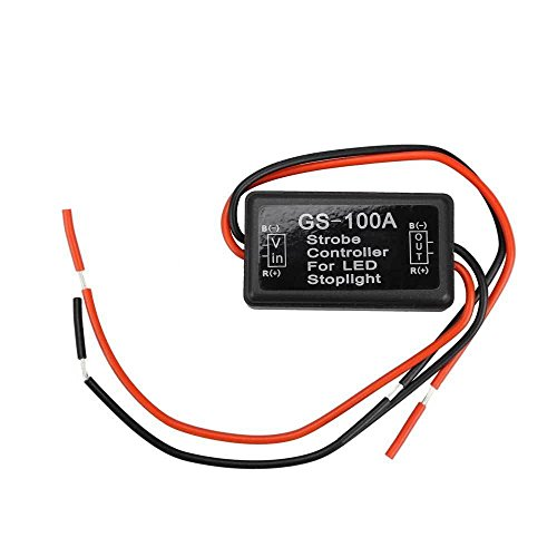 imported flasher module flash strobe controller 12v-24v for led brake stop light lamp Imported Flasher Module Flash Strobe Controller 12V-24V for LED Brake Stop Light Lamp 412Z 2BfUOX L