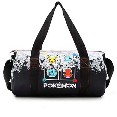 Pokémon Bolsa Gimnasio Bolso de Viaje Pikachu Bulbasaurio Quemandra Chortuga de Trademark Collections