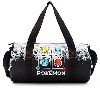 Pokémon Bolsa Gimnasio Bolso de Viaje Pikachu Bulbasaurio Quemandra Chortuga