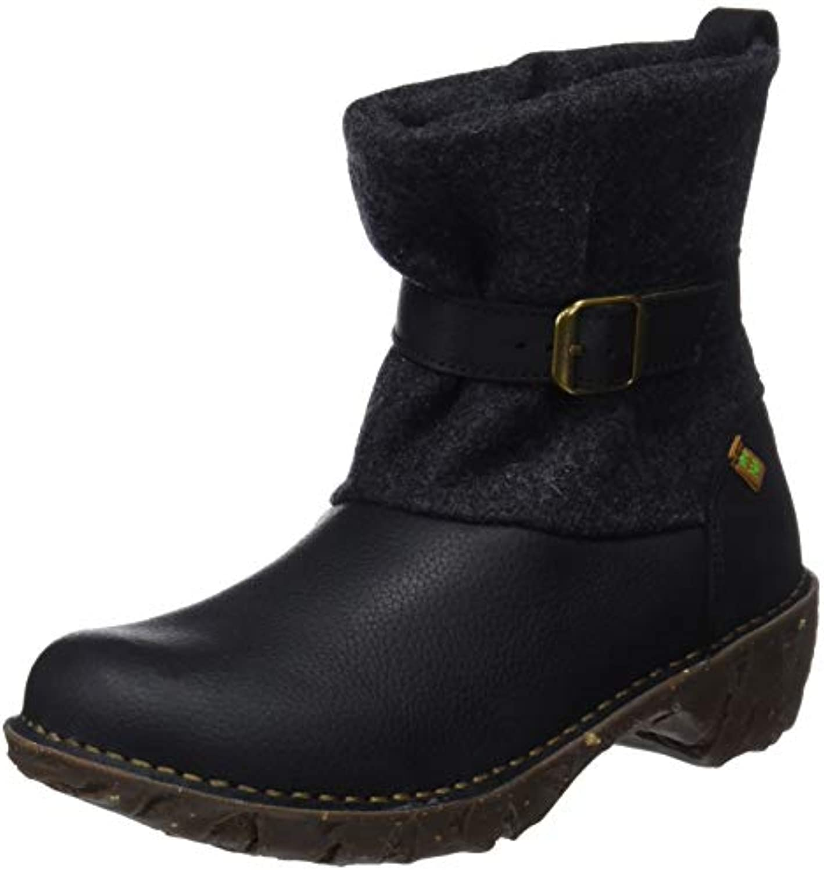 El Naturalista Ng56 Soft Grain-Premium Wool nero Yggdrasil, Stivaletti Donna | Nuova voce  | Scolaro/Ragazze Scarpa