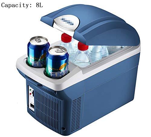 8L Auto Kühlschrank Car Home Dual Hot & Cold Box Halbleiter Mini Kühlschrank Gefrierschrank Gefrierschrank Leistung 45 (W)