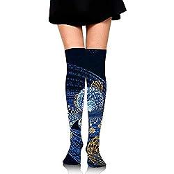 3d Fractal. Modelo negro de calcetín ajustable.