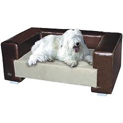 Chester y pozos Oxford II perro camas, tamaño mediano, marrón